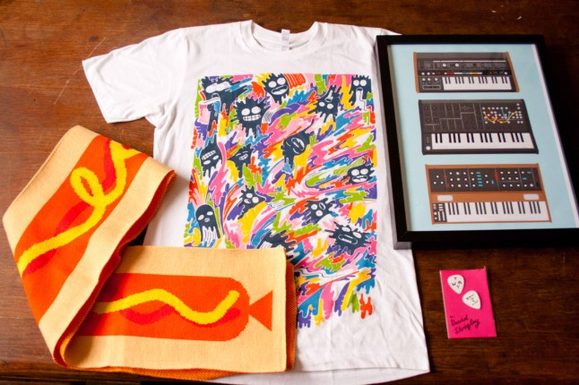 Ross's birthday presents