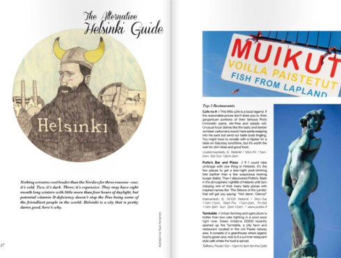 Helsinki Travel feature page 1 - Hound magazine