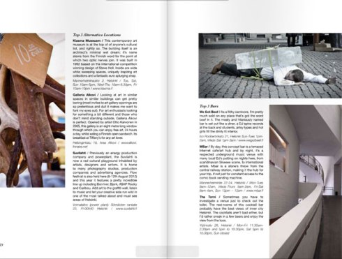 Helsinki Travel feature page 2 - Hound magazine